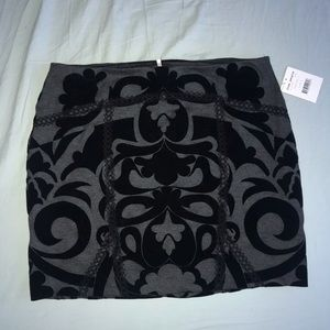 New with tags Free People Black mini skirt